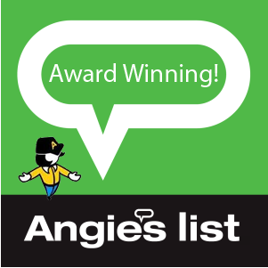 Angie's List Award Winner!